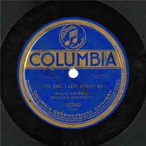 Columbia Stellar Quartette - The Girl I Left Behind Me / Sailing