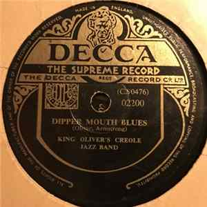 King Oliver's Creole Jazz Band - Dipper Mouth Blues / Canal Street Blues