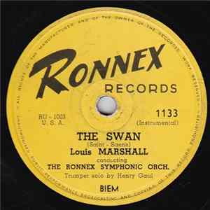 Louis Marshall conducting The Ronnex Symphonic Orchestra - The Swan / Mine Forever