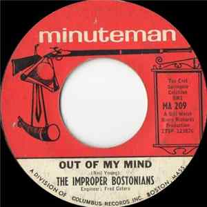 The Improper Bostonians - Out Of My Mind / You Made Me A Giant