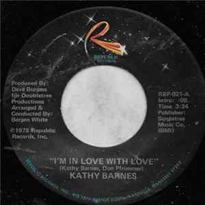 Kathy Barnes - I'm In Love With Love Album