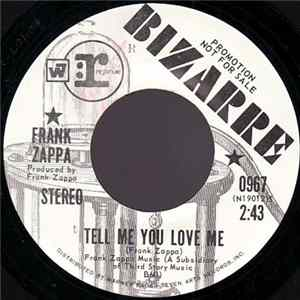 Frank Zappa - Tell Me You Love Me / Would You Go All The Way For The U.S.A.? Album